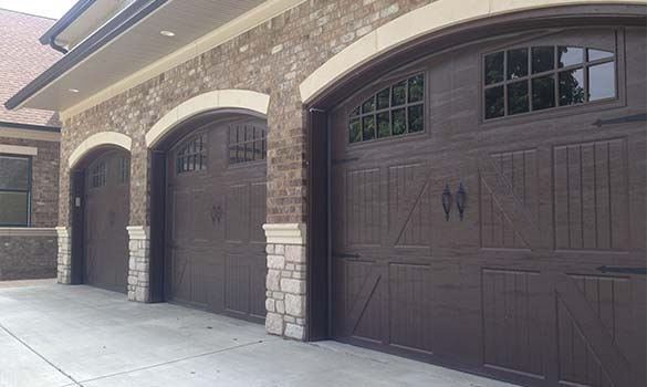 Residential Garage Doors Aside Image